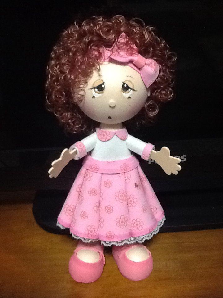 Con pelo de muñeca