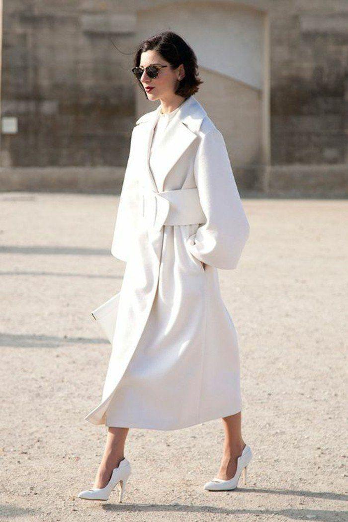 1001 id es pour un trench femme les mani res de le porter mode femme pinterest mode - Comment porter un trench femme ...