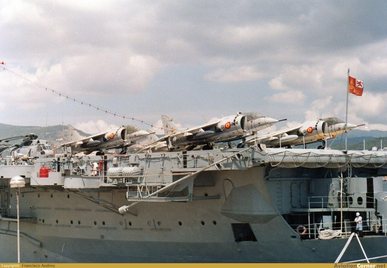 [linked image] | Armada española, Spanish armada, Warship Spanish Aircraft Carrier Prince Of Asturias