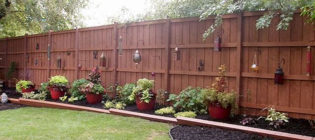 Elegant 75 Simple Backyard Privacy Fence Ideas On A Budget