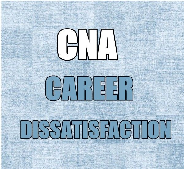 Despite The Many Challenges Cnas Encounter On The Job Most Are