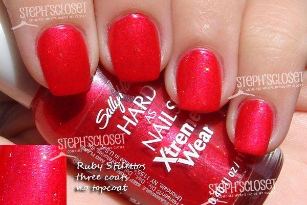 Ruby Stilettos