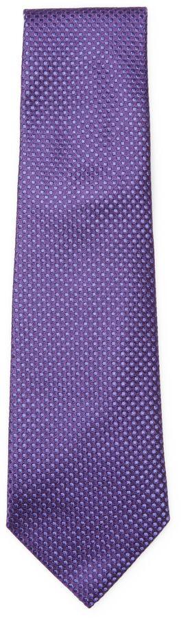 Armani Collezioni Men's Embroidered Dots Tie