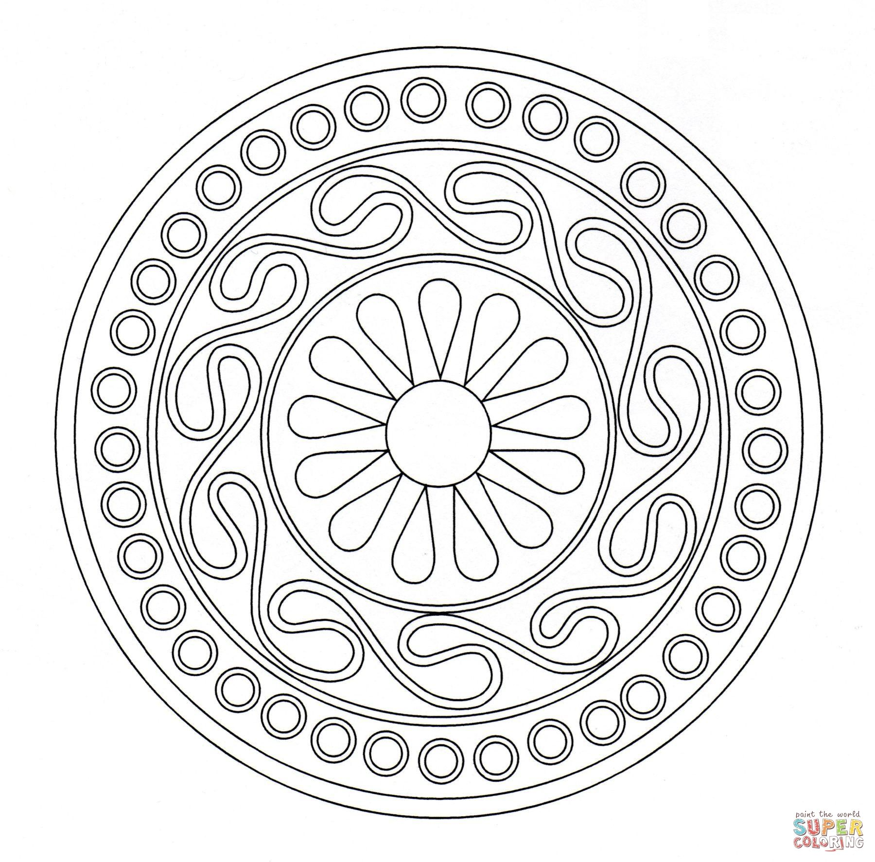 celtic ornament coloring page from celtic art category select from 20987 printable crafts of cartoons nature animals bible and many more - Free Printable Ornament Coloring Page 2