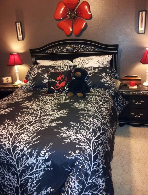 20 coolest black and red bedroom design ideas - Red Room Decor Pinterest
