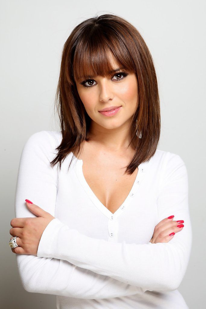 More Straight Guys Here Follow: More Pics Of Cheryl Cole Medium Straight Cut With Bangs