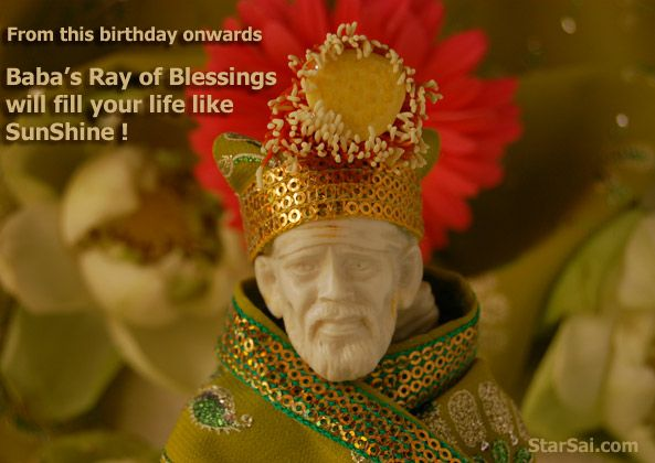 Shirdi sai baba birthday greeting cards sai pinterest sai baba shirdi sai baba birthday greeting cards m4hsunfo
