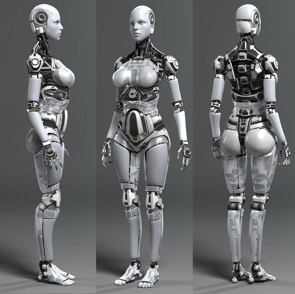 sergal sci fi - Поиск в google | Роботы, киборги, броня, Skeleton