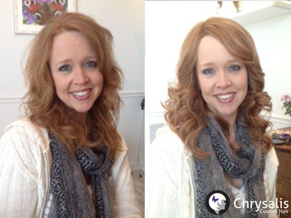 Natural Red Wig, Custom Wig, Human Hair Wig,