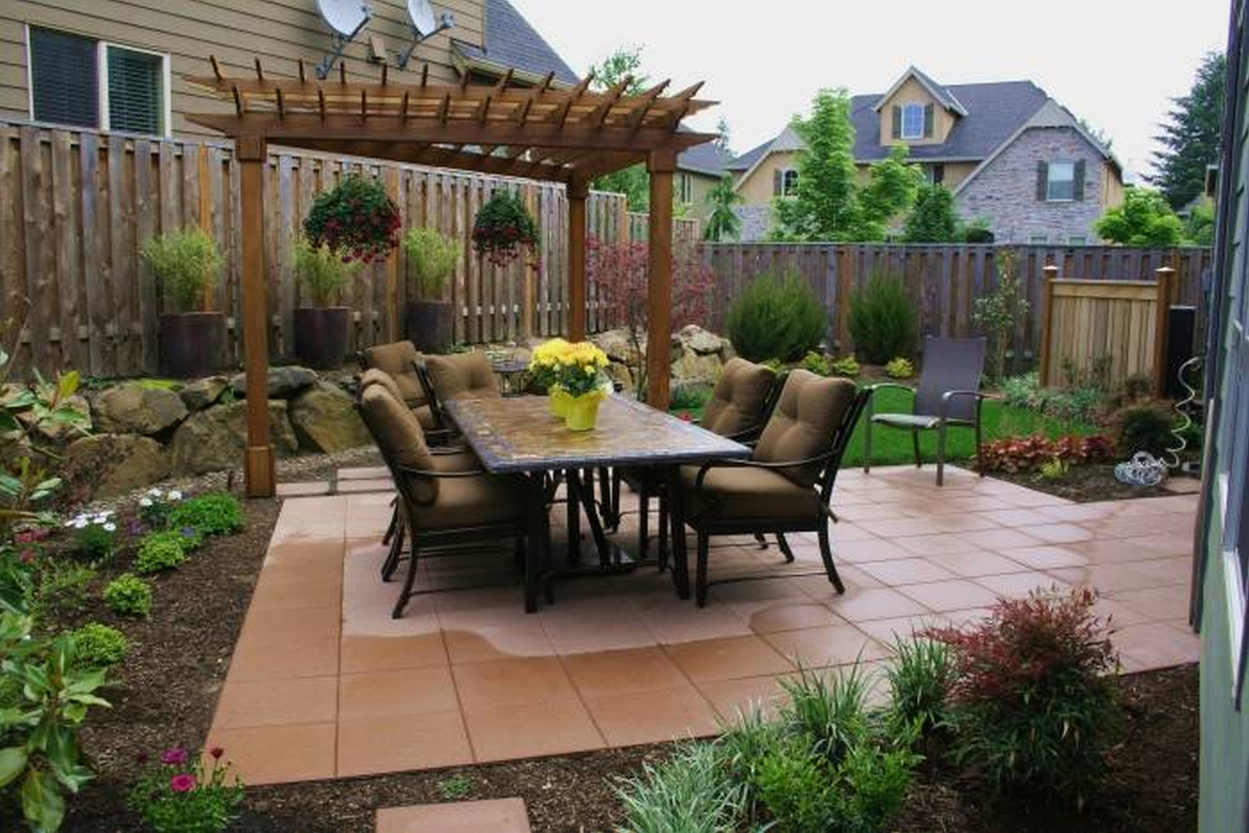 backyard landscaping category for small front yard landscaping