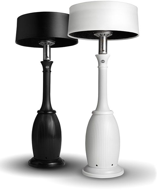 Kindle Living Award Winning Patio Heater Lamp Heat Warmer Decorative Light Bella Pee Purchased