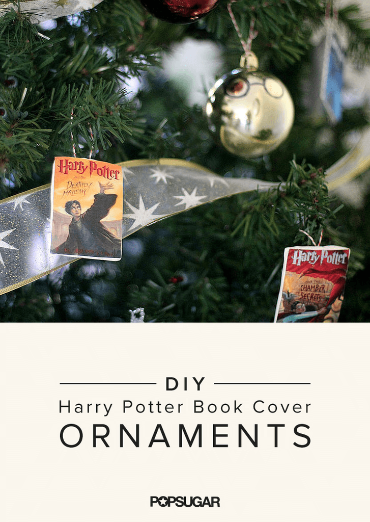 Harry Potter Book Cover Maker ~ You need these adorable harry potter book cover ornaments