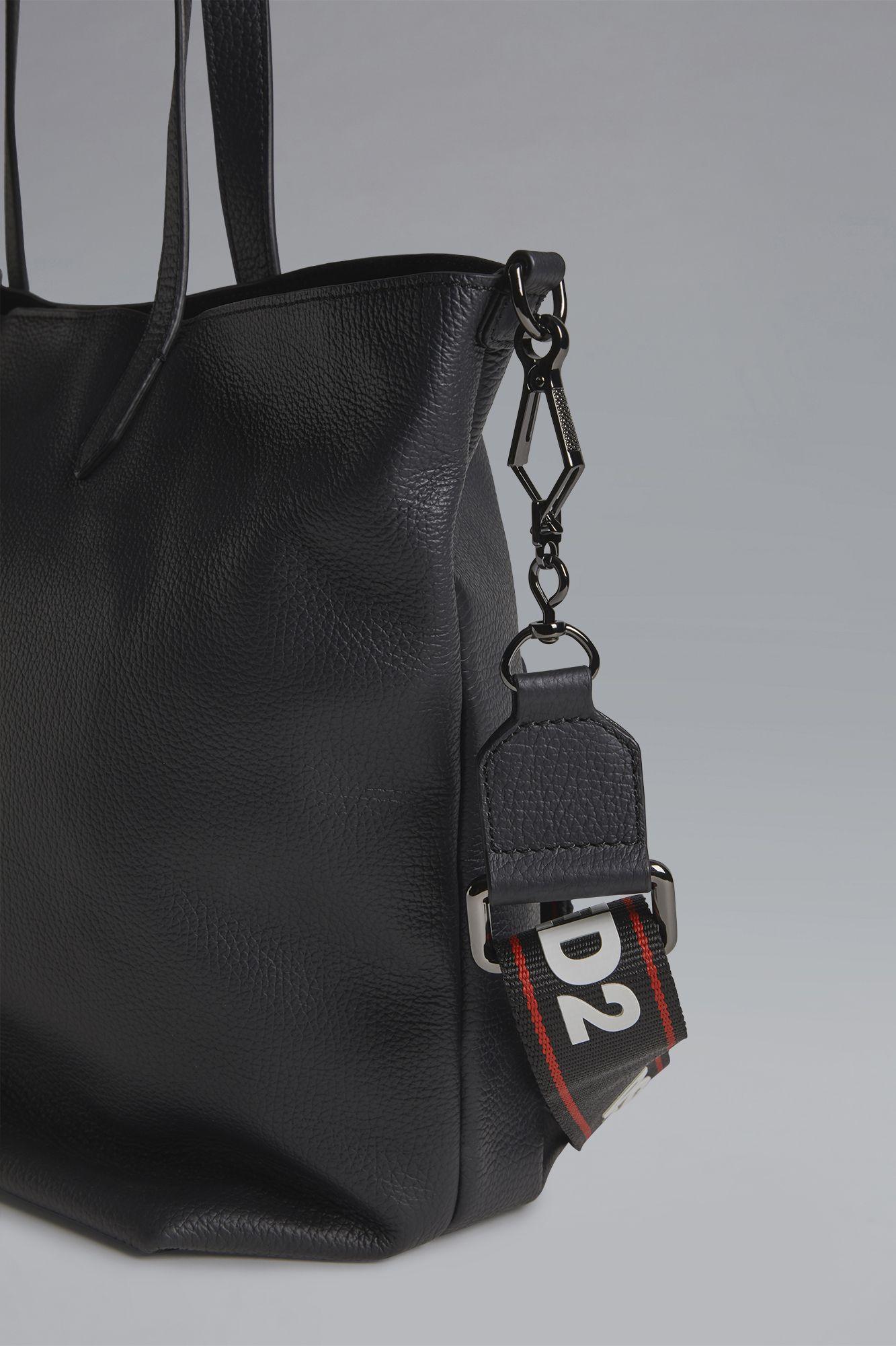 Logo tape shopping bag