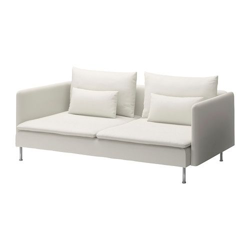 ikea s derhamn 3er sofa gr sbo wei die verschiedenen elemente der polsterm belserie. Black Bedroom Furniture Sets. Home Design Ideas