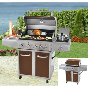 Costco: Grill Chef 72,000 BTU Propane Gas Grill