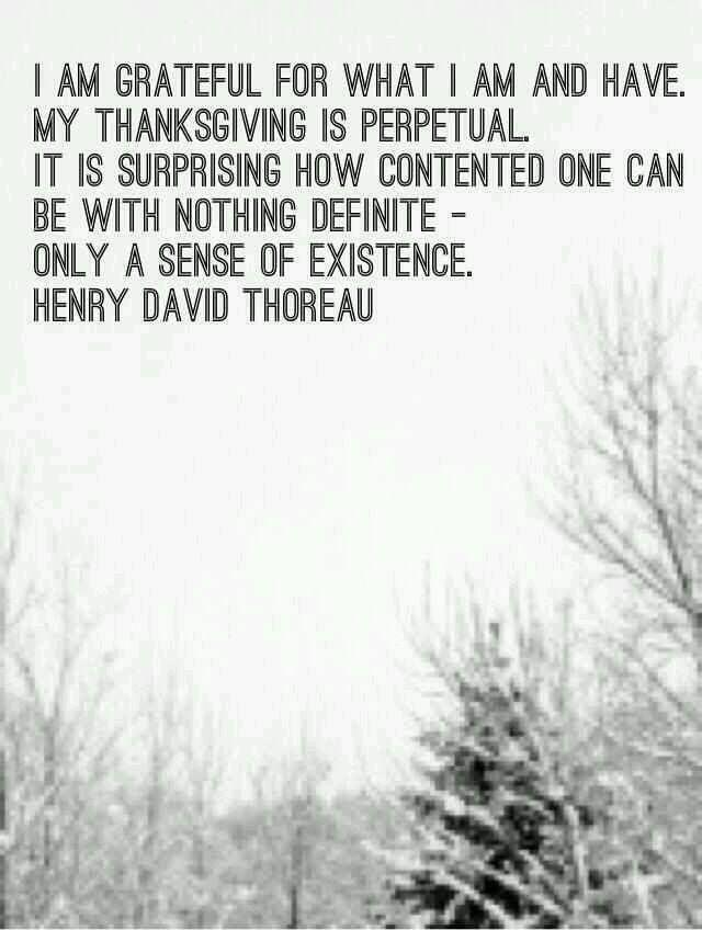 Henry David Thoreau Gratitude Grace And Guardian Angels