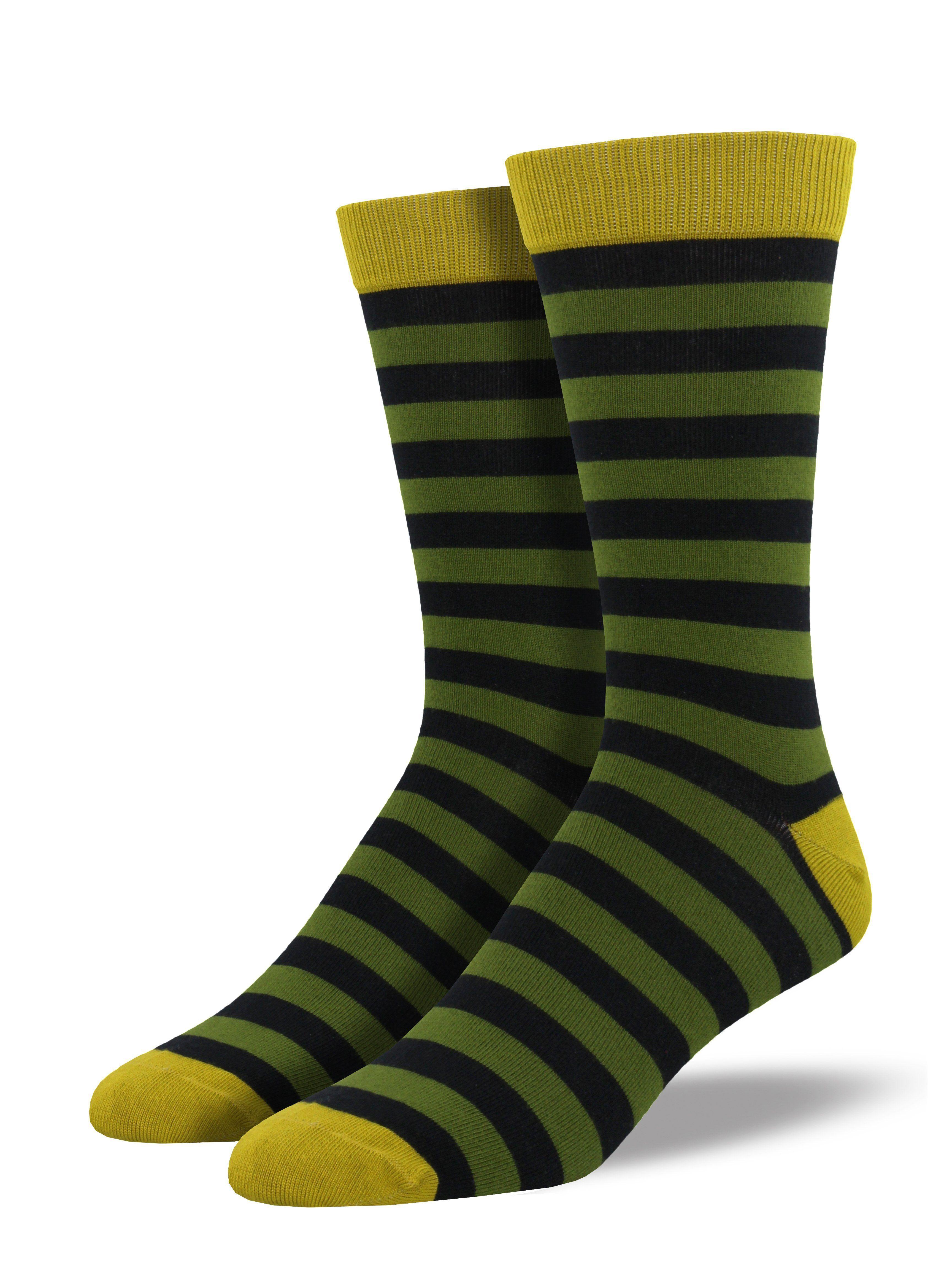 Men's Bamboo Stripe Socks