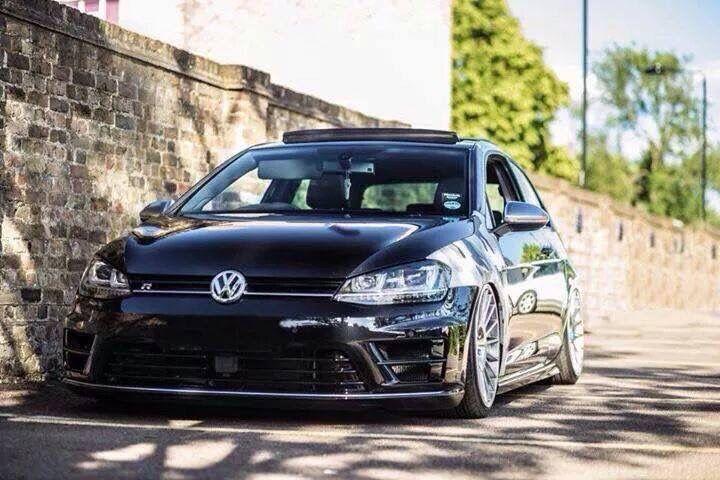 Low Black Volkswagen Volkswagen Golf Golf