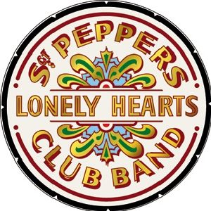 """3"""" Yellow Submarine Lonely Hearts Beatles Lennon Classic Rock Guitar Sticker"""