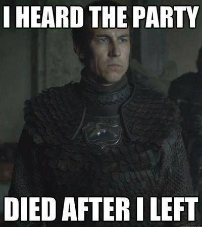 Red Wedding Joke Got Funny Games Really Funny Got Memes