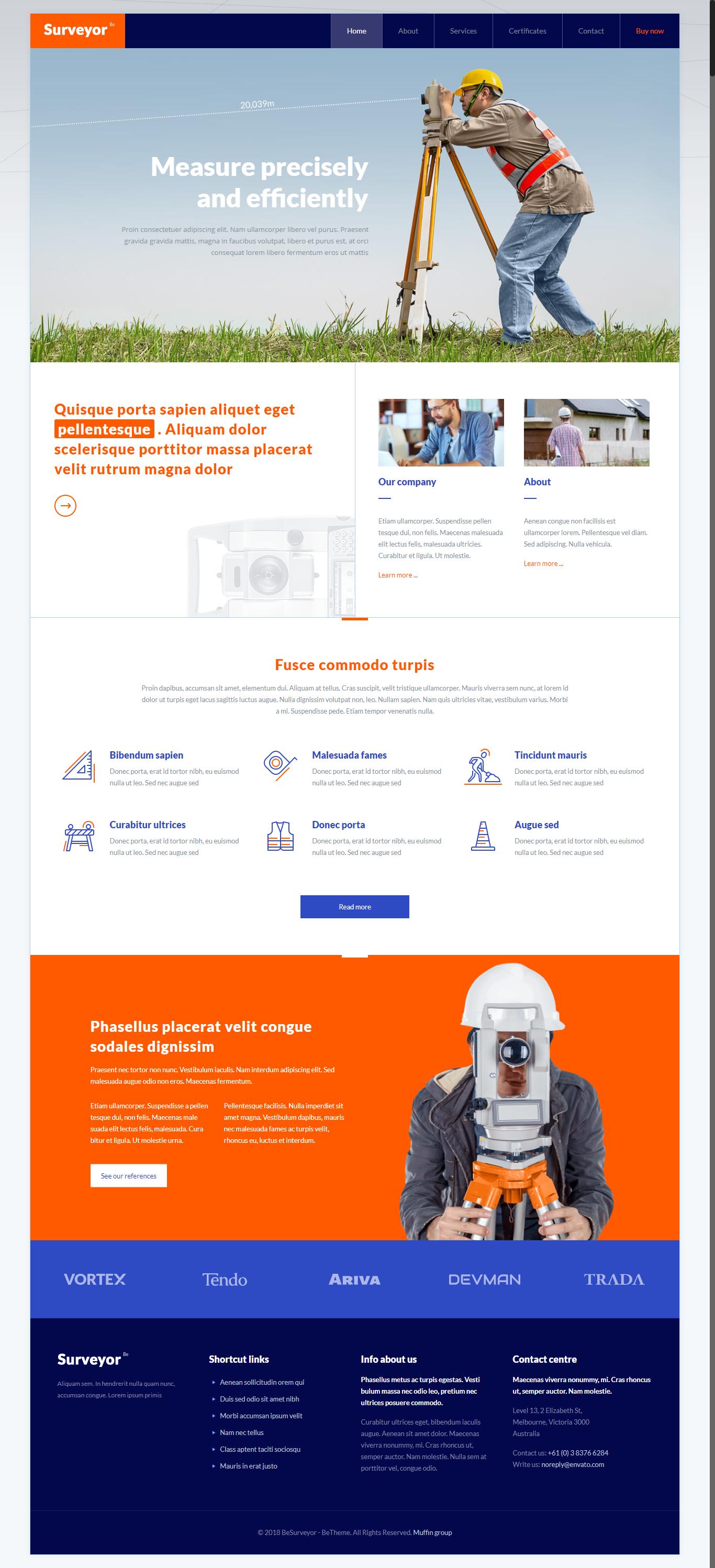 Betheme Responsive Multi Purpose Wordpress Theme Veb Dizajn Shablony Sajt