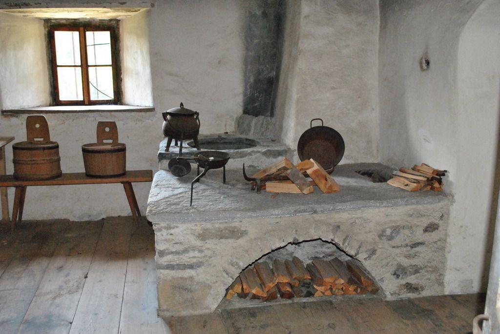 Alte Bauernküche   Küche   Pinterest   Stove