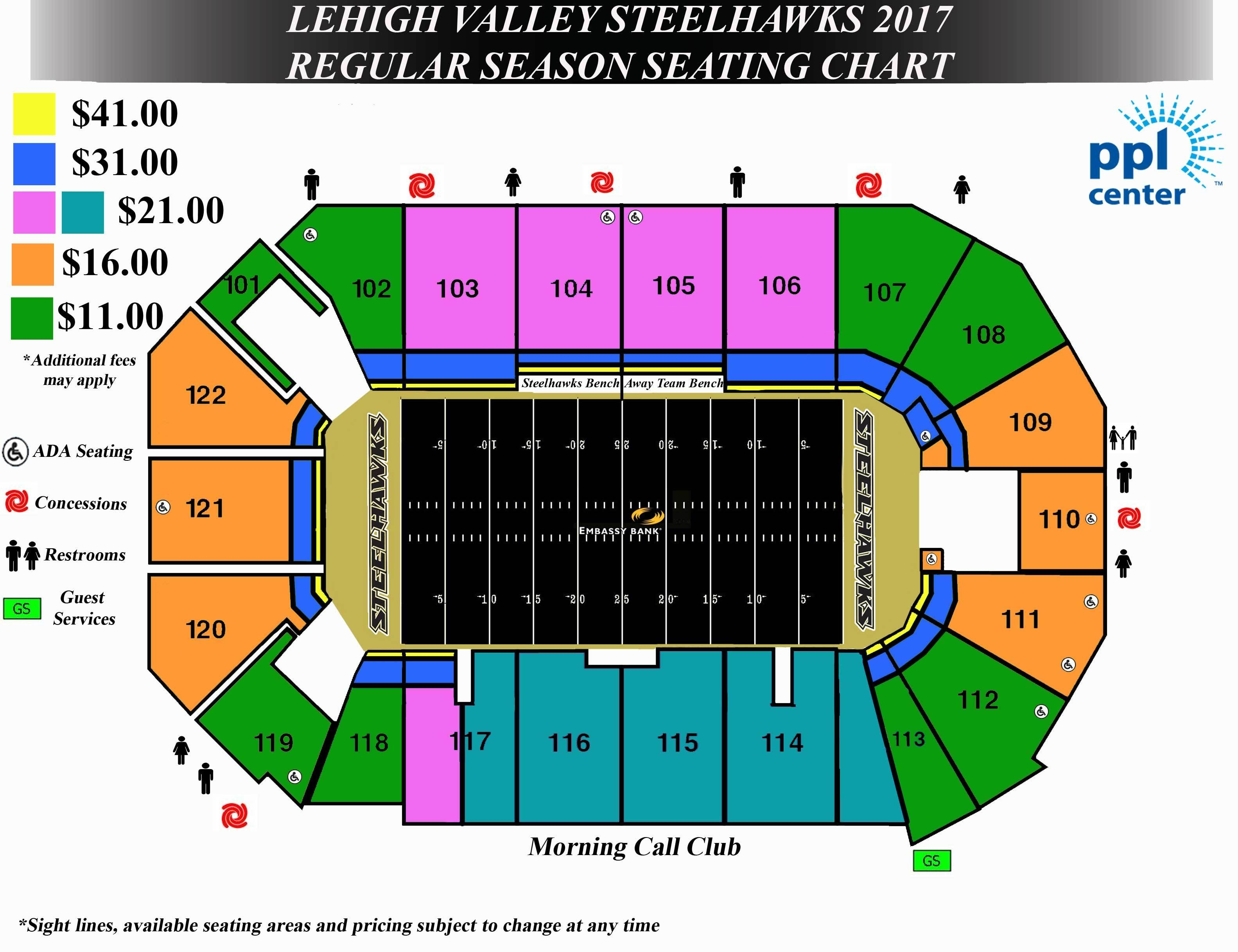 Detailed Seat Row Numbers End Stage Concert Sections Floor Plan Map Arena Lower Club Upper Level Layout Oklahoma City Seating Charts Seating Plan Center Chart