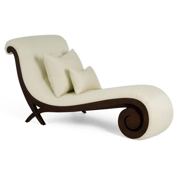 Chaise Longue with Mahogany Scrolled Base Christopher Guy ❤ liked on Polyvore featuring home, furniture, chairs, accent chairs, christopher guy chairs, christopher guy, mahogany chair, mahogany wood furniture and mahogany furniture