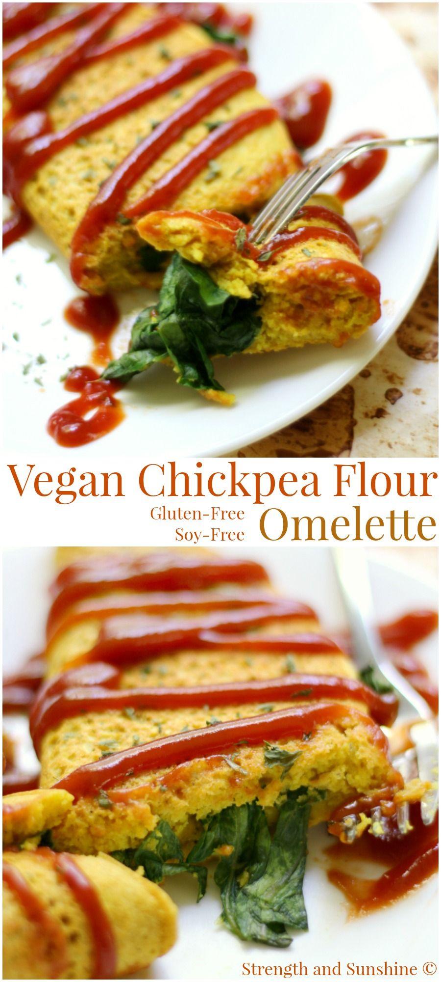 Vegan Chickpea Flour Omelette Recipe Vegan Breakfast Recipes