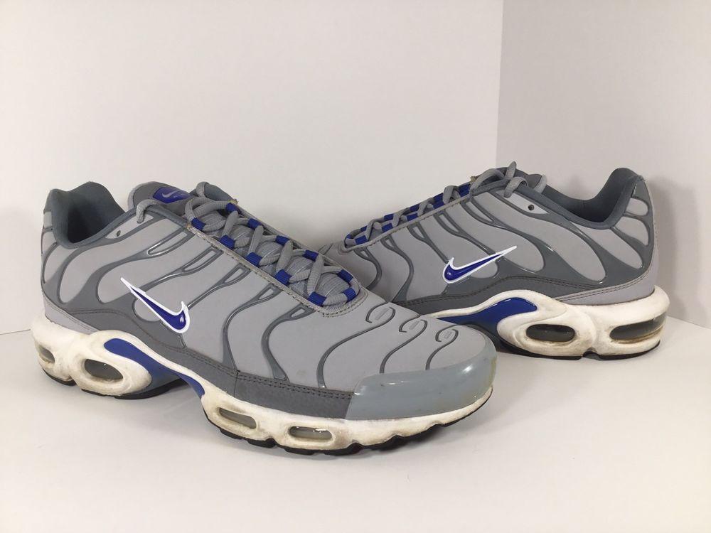 Nike Air Max Plus Tn Wolf Grey Blue Black Mens Size 11 5 Rare 604133 094 Fashion Clothing Shoes Accessories Mensshoes Nike Air Max Plus Nike Air Max Nike