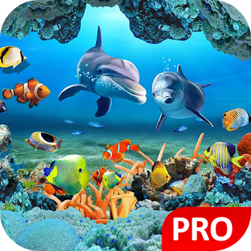 Fish Live Wallpaper 3d Aquarium Background Hd Pro V1 2 Paid Latest Aquarium Live Wallpaper Live Wallpapers Aquarium Backgrounds