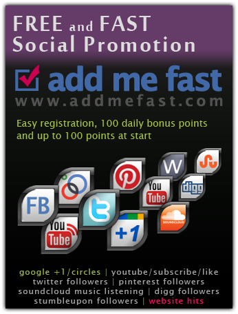 Free And Fast Social Promotion Facebook Likes Google 1 Google Circles Twitter Followers Youtube V Cool Things To Buy Favorite Things List Holiday Shop