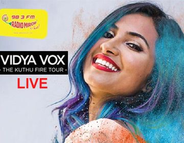 Mirchi Live With Vidya Vox Live Concert In India Book Tickets Now Ticket Price Starts At Rs 450 Only Vidya Vox Live Concert Vox