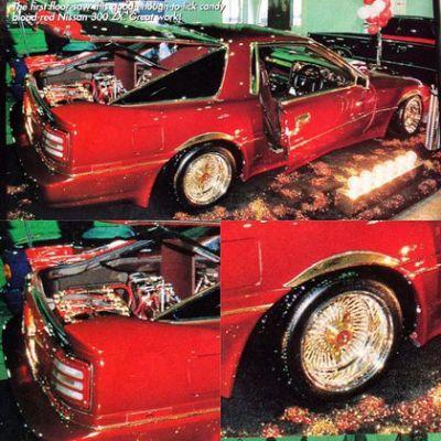 Japan Super Show 1995 1995 Lowrider S Toyota Supra Custom Cars