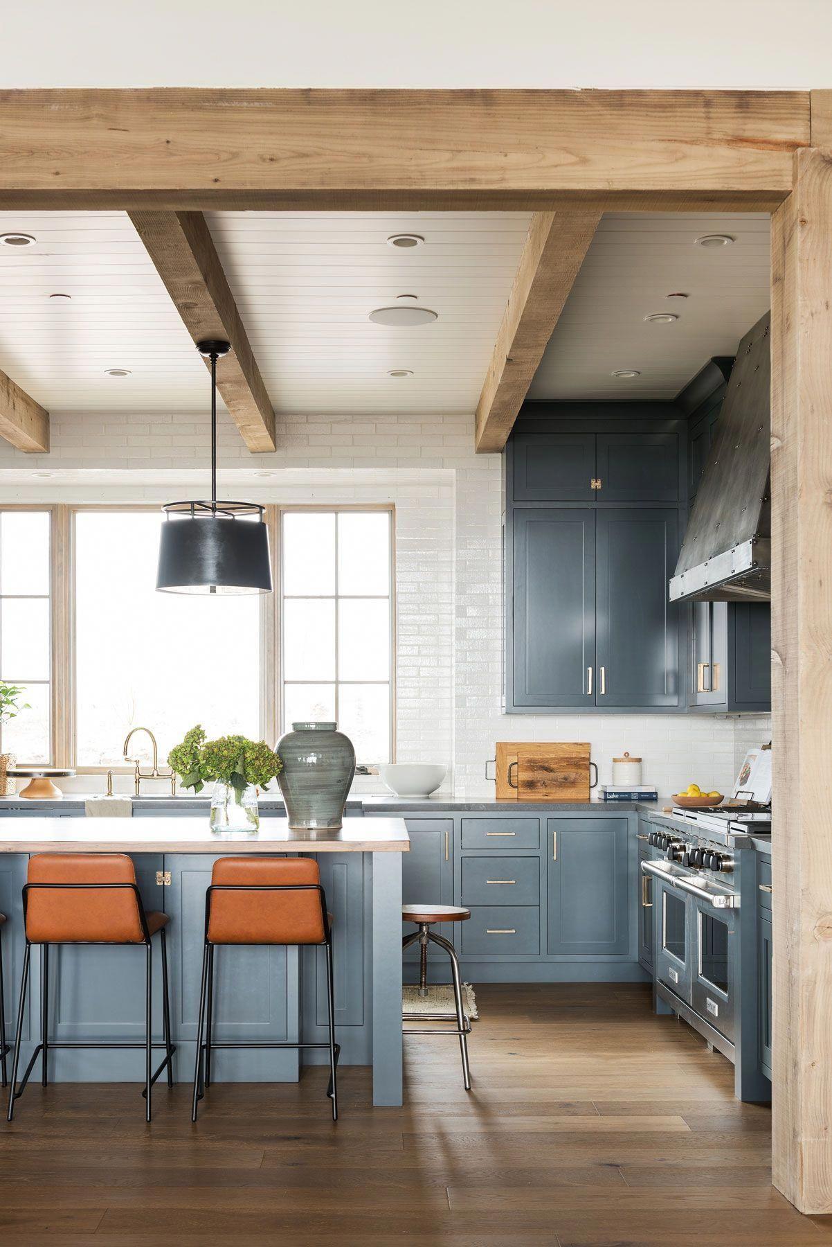 Pin On Blue Kitchen