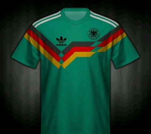 66def129838 Germany away shirt for 1991. Futebol