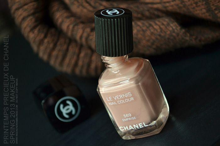 Chanel Le Vernis Nail Polish - Emprise 569 - Printemps Precieux de Chanel Spring 2013 Makeup Collection - Review Swatch NOTD