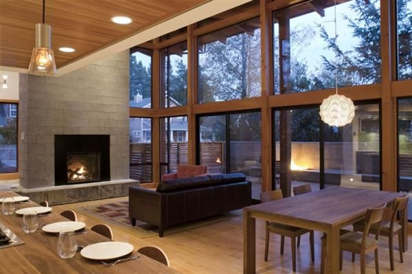 Beautiful Wood House Design Style Traditional House With Modern
