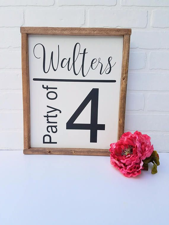 Last Name Signs Wooden Farmhouse