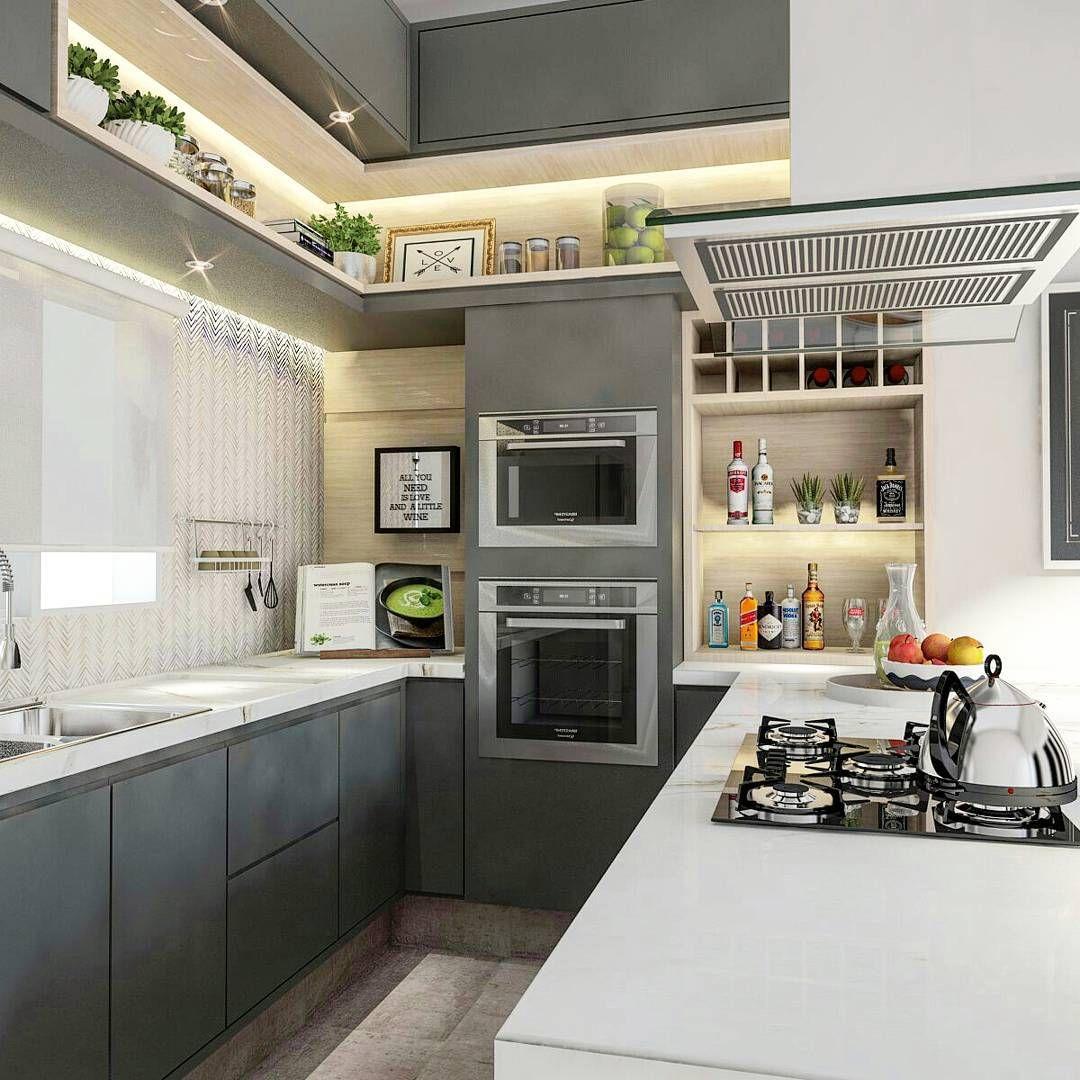 Cozinha Gourmet 60 Modelos Com Fotos E Projetos Cozinhas