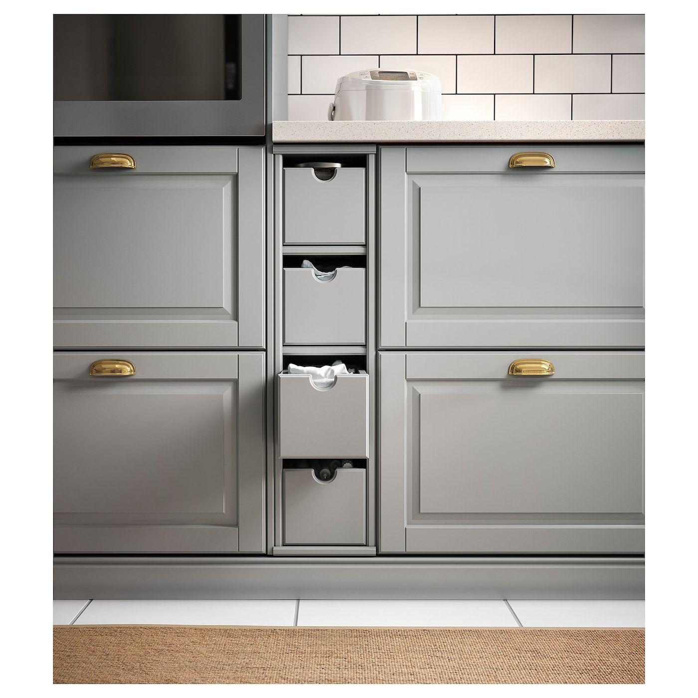 Tornviken Box Grau Ikea Osterreich In 2020 Grey Ikea Kitchen Ikea Kitchen Cabinets Ikea Kitchen