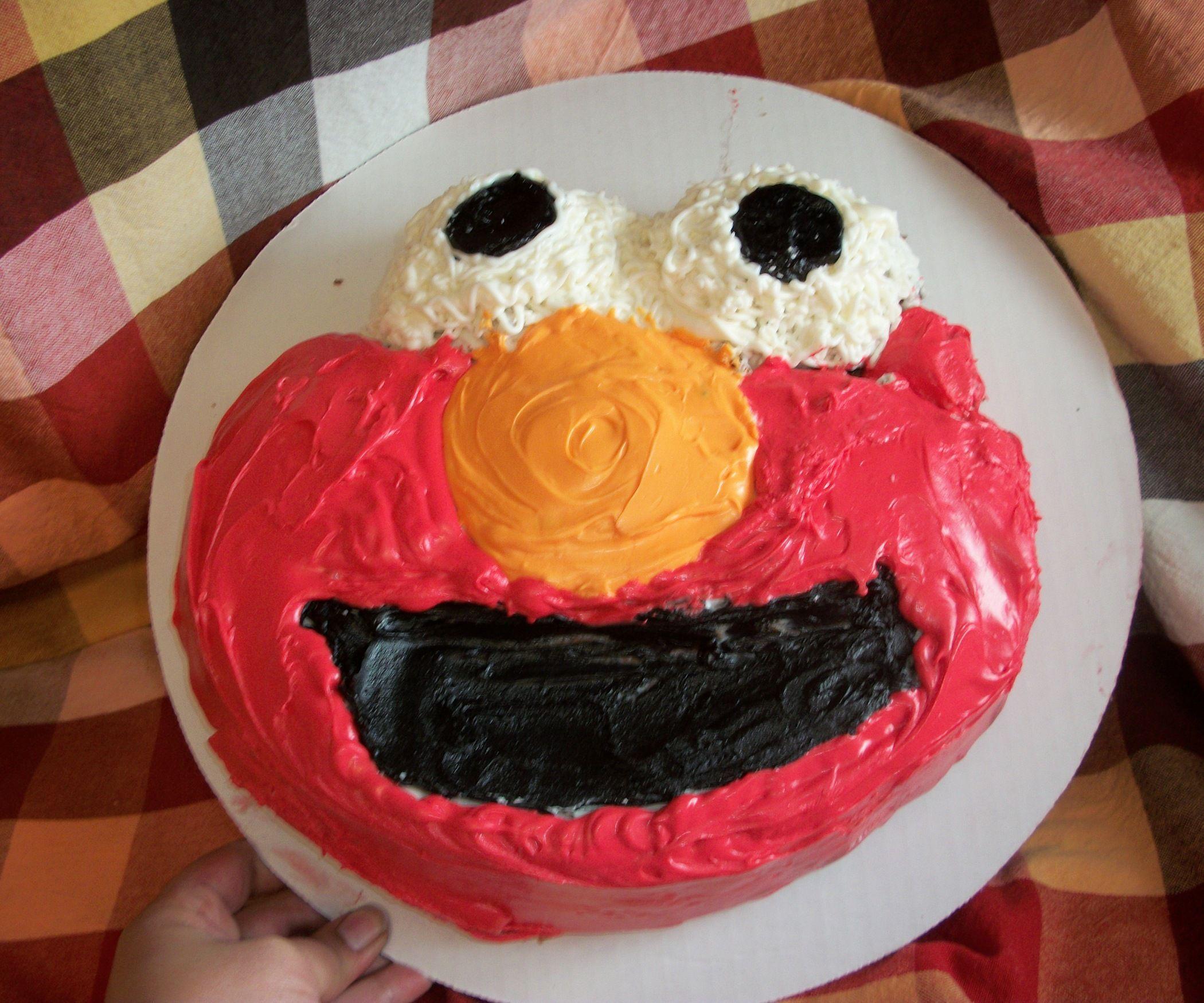 Easy To Make Elmo Cake Pinterest Elmo Cake Elmo And Buy Cake