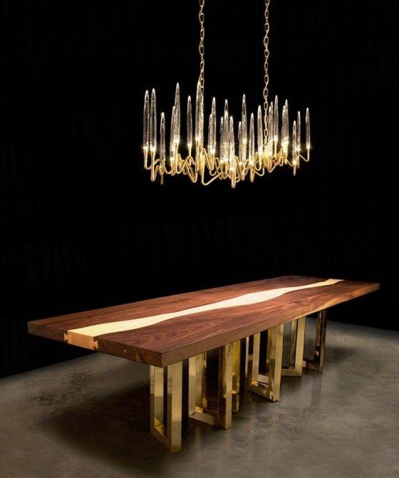 Il Pezzo Mancante 3 LED chandelier   Fine Lighting News