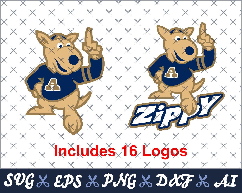 University Of Akron Digital Mascot Logos Bundle Ai Eps Dxf Png