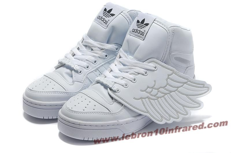 Adidas X X White 14447 Jeremy Scott Wings Shoes All White | 48c8019 - hvorvikankobe.website
