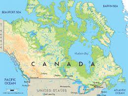 Imagini Pentru Harta Canada Hartă Imagine