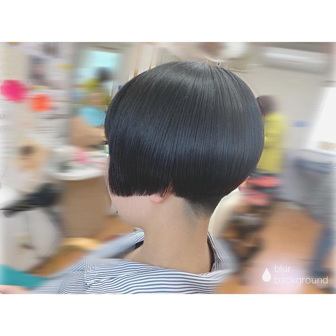 Mai Name Is Maiさんはinstagramを利用しています これが最近のワカメちゃんです メンテナンスカット わかめちゃん ワカメちゃん わかめカット 刈り上げ女子 刈り上げ Haircut ショートヘア Shorthair Hairmake 美容師 美容師さんと繋がりたい Toki