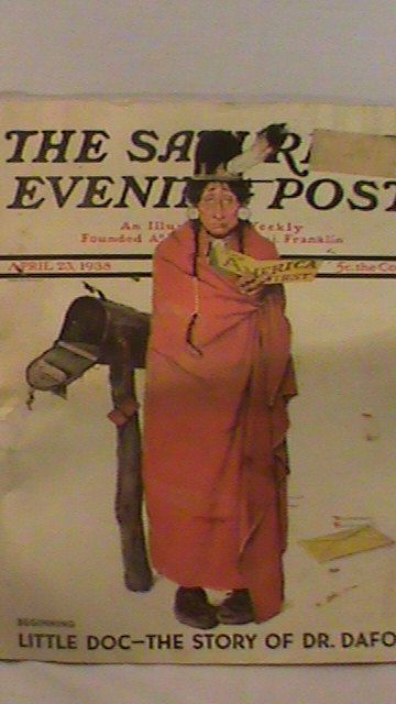 April 1938 The Saturday Evening Post Illustrated by cewebb on Etsy, $5.00