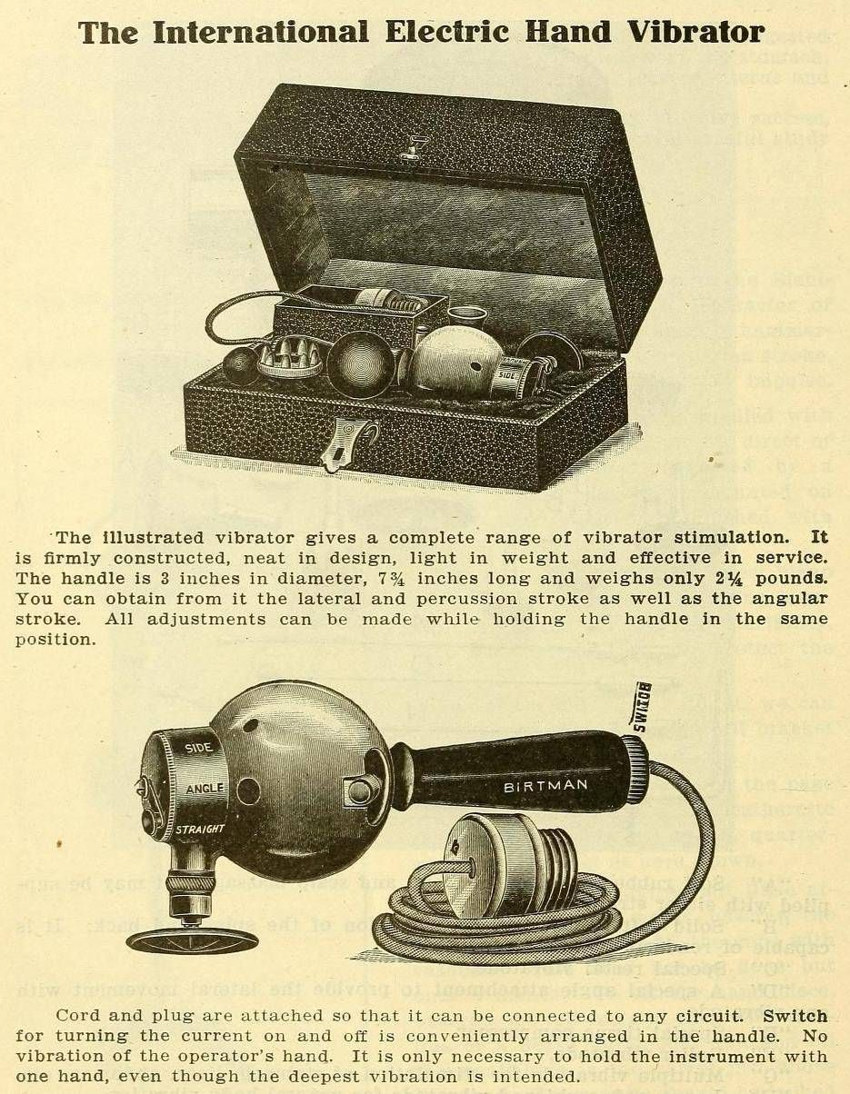 Doctors Created Vibrators After Growing Tired Of Masturbating 3 Way Switch History The Story Behind Womens Pleasure Includes A Lot Hysteria Weve Come Along Pun Intended