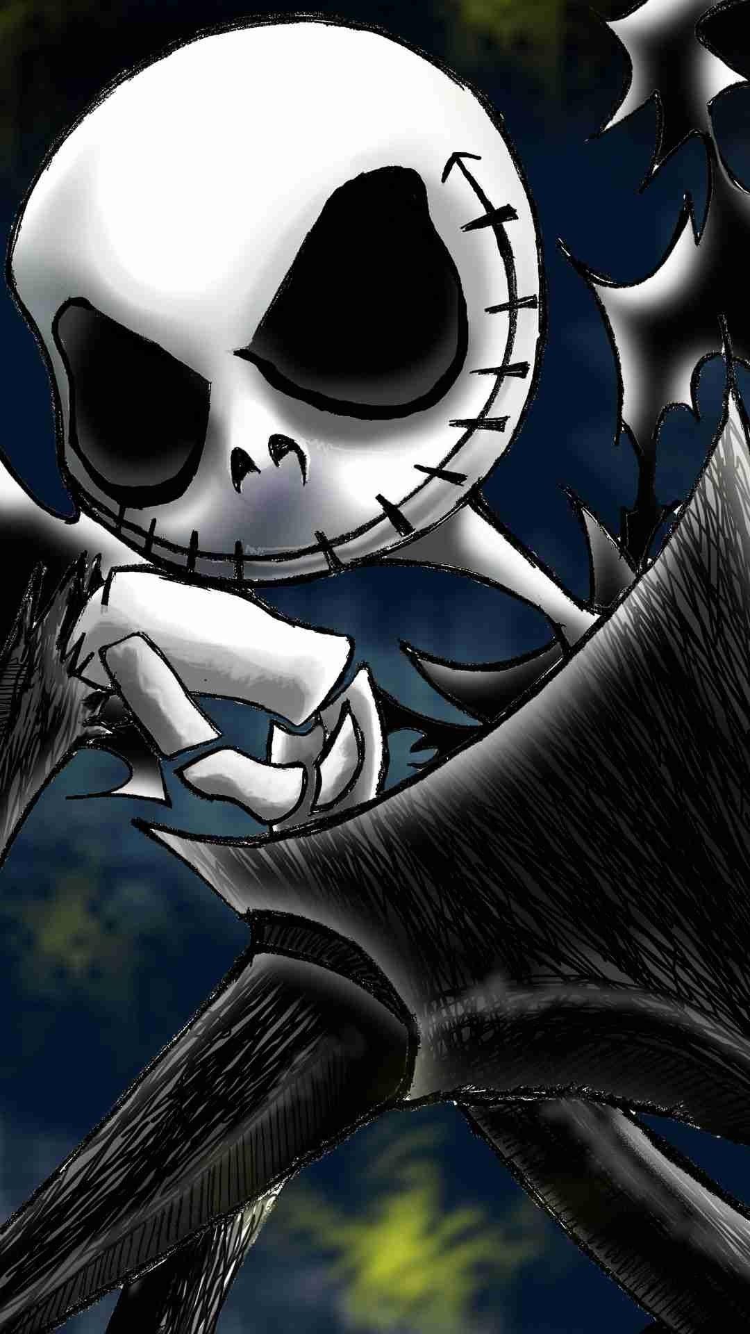 2014 Halloween Jack Skellington iPhone 6 Wallpaper - Insipired Nightmare Before Christmas #2014 ...